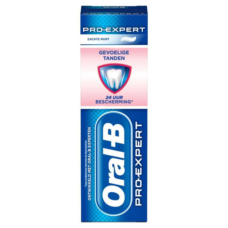 Tandpasta pro expert sensitive whitening