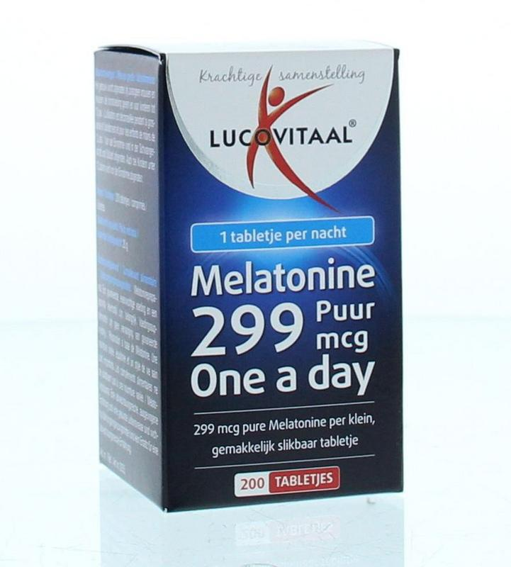 Melatonine puur 0.299 mg
