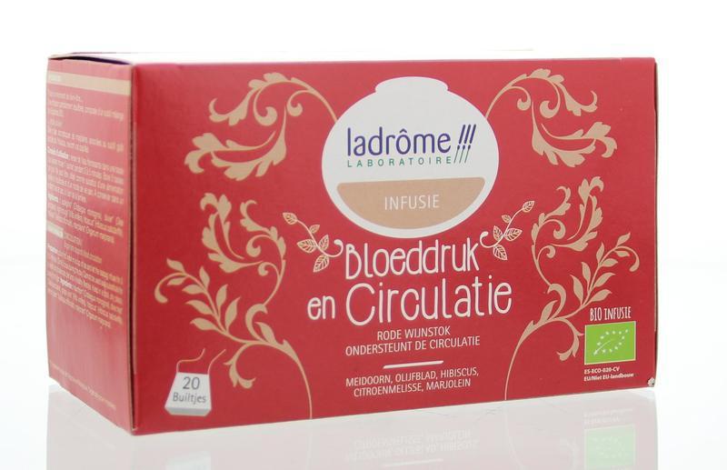 Bloeddruk & circulatie thee bio