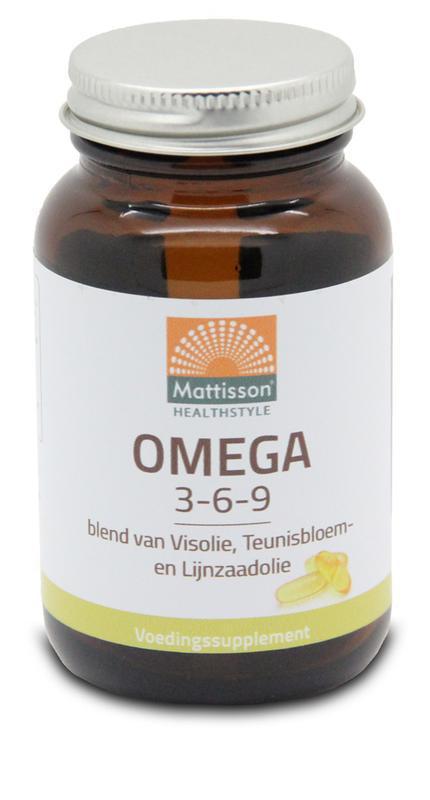 Omega 3 6 9 vis teunisbloem lijnzaad