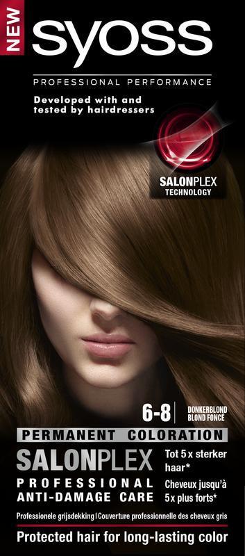 Color baseline 6-8 donkerblond haarverf