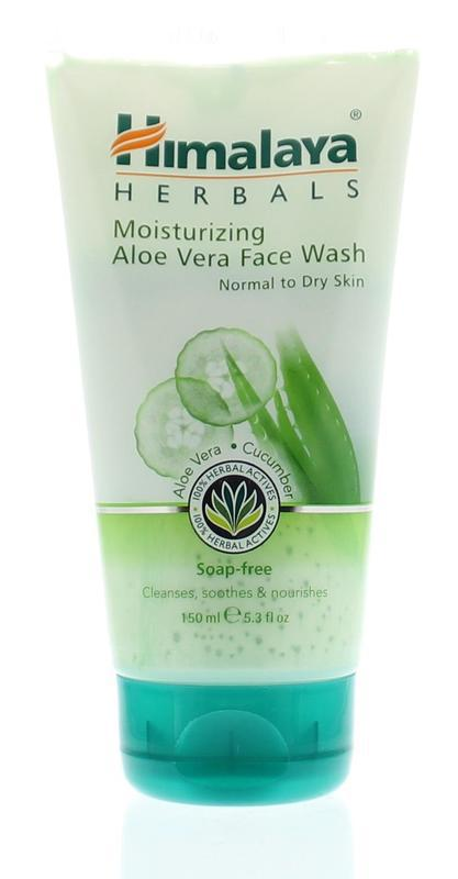 Herbal aloe vera face wash