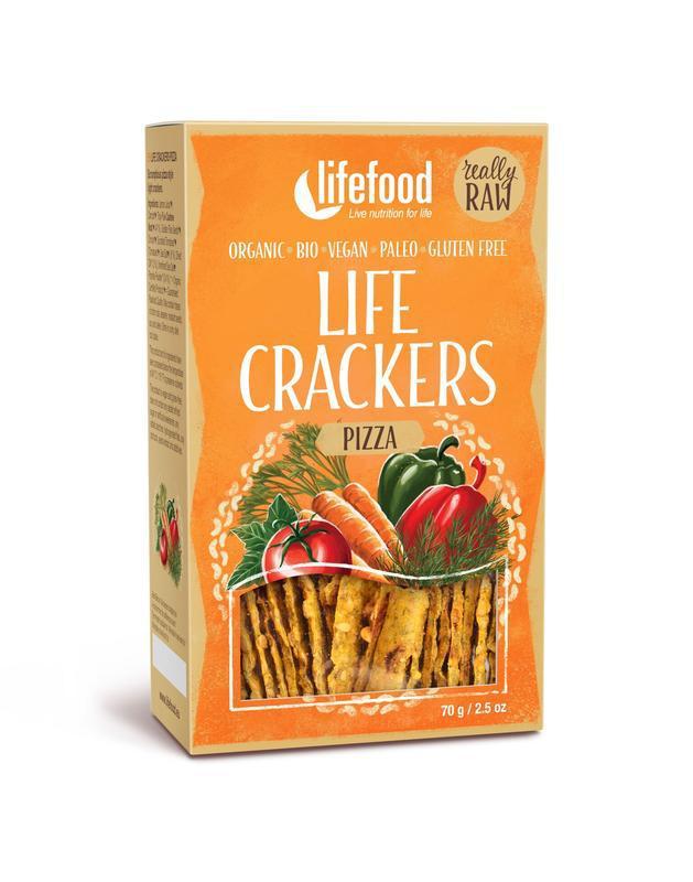 Life crackers pizza bio