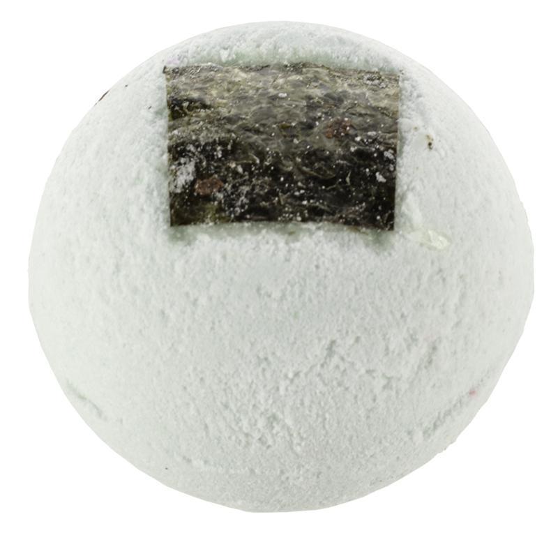 Bath ball seaweed shore