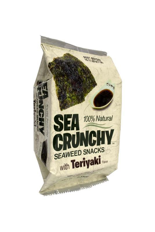 Nori zeewier snacks teriyaki