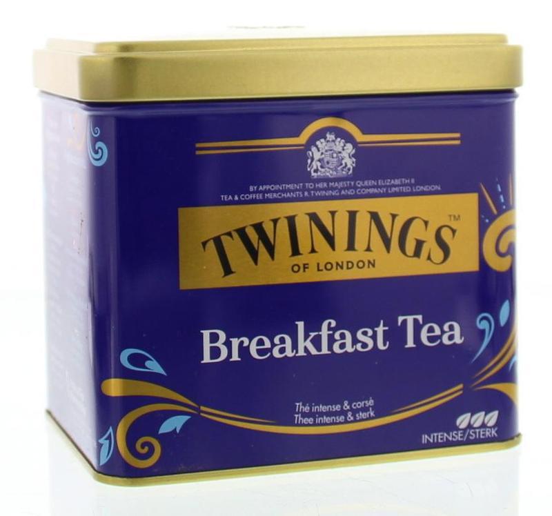 Breakfast tea blik