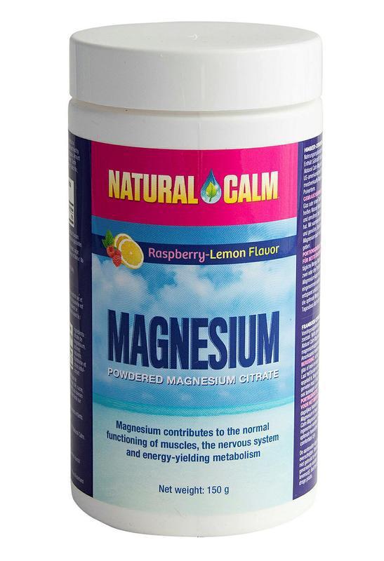 Magnesium framboos/citroen