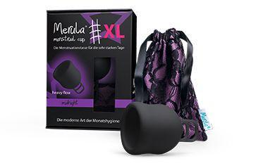 Menstruatiecup XL midnight zwart
