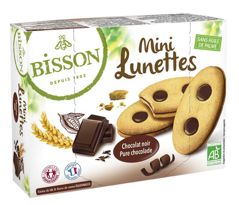 Lunettes mini chocolade