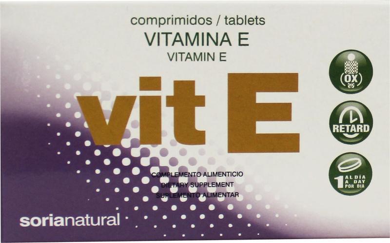 Vitamine E retard 12 mg