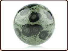 Edelsteenbol jaspis kamb 4.5 - 5 cm