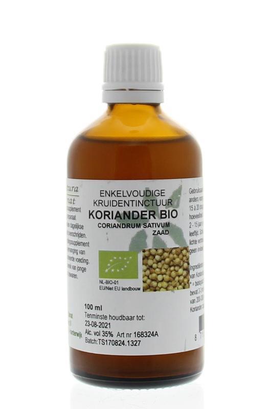 Coriandrum sativum / koriander tinctuur bio