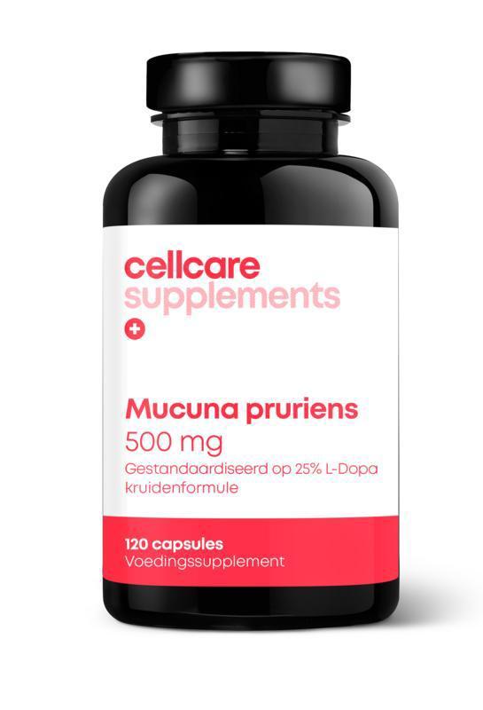 Mucuna pruriens 500 mg gestandaardiseerd