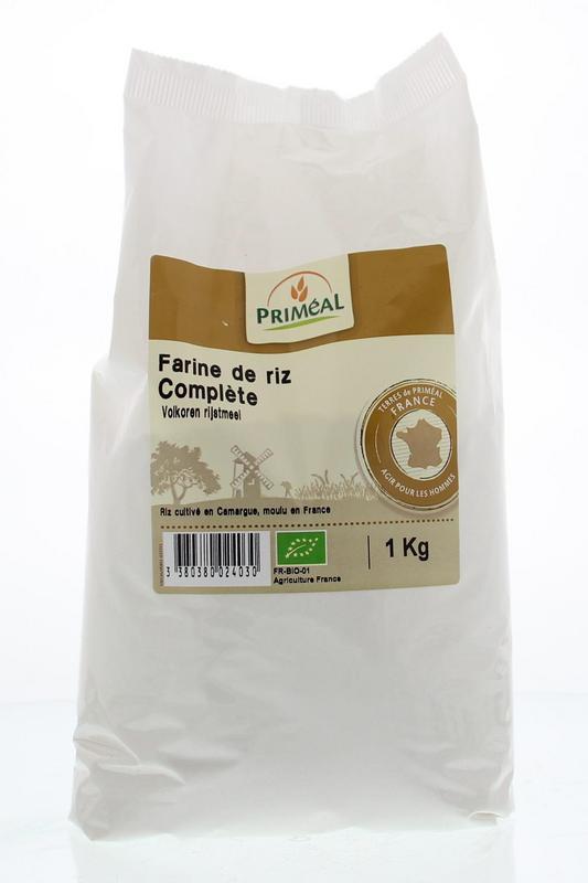 Volkoren rijstmeel bio