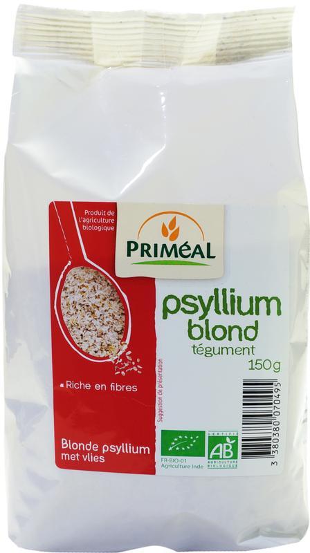 Blonde psyllium met vlies
