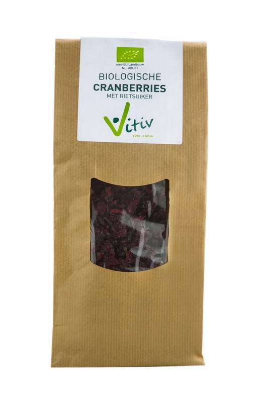Cranberries rietsuiker bio
