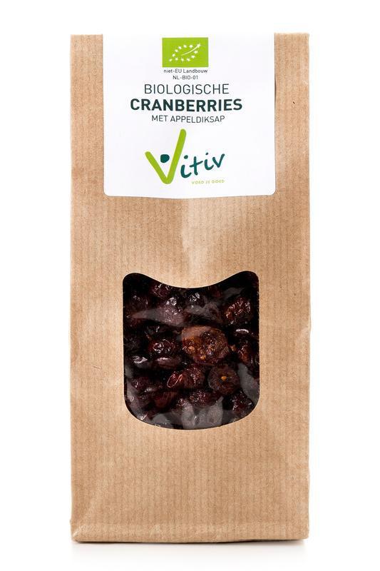 Cranberries appeldiksap bio