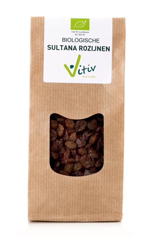 Sultana rozijnen bio