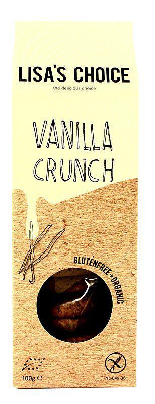 Vanilla crunch cookies
