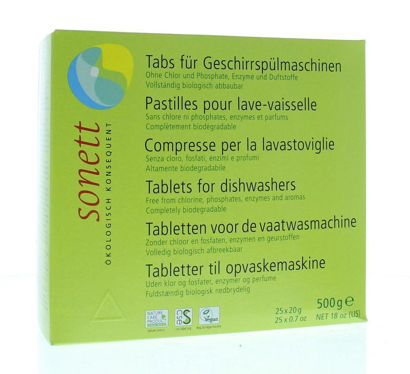 Vaatwasmachine tablet