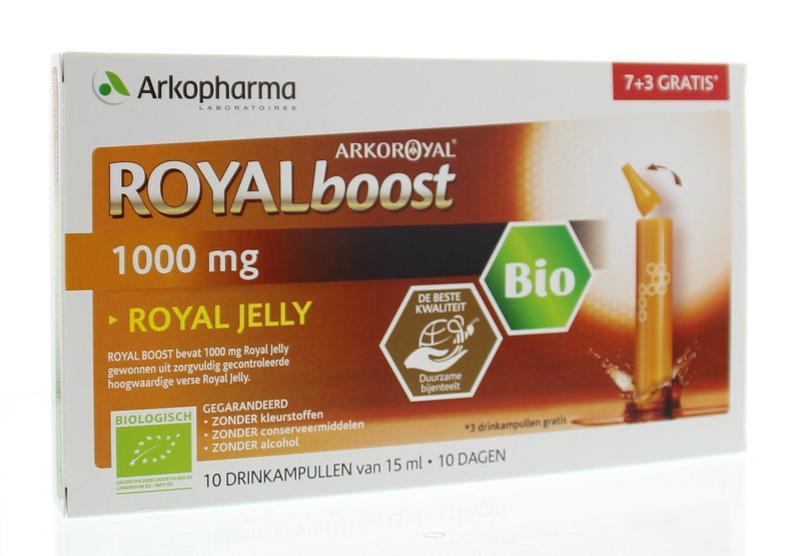 Royal Jelly boost (7 + 3) 15 ml per ampul