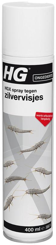 X tegen zilvervisjes