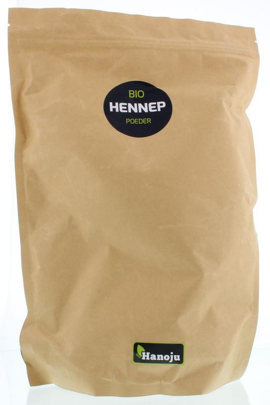 Bio hennep poeder paper bag