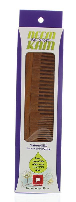 Neem houten kam recht combi