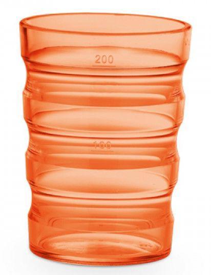 Beker sure-grip oranje
