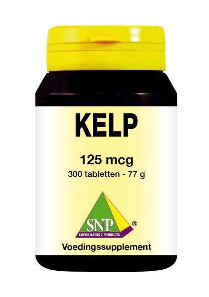 Kelp 125 mcg