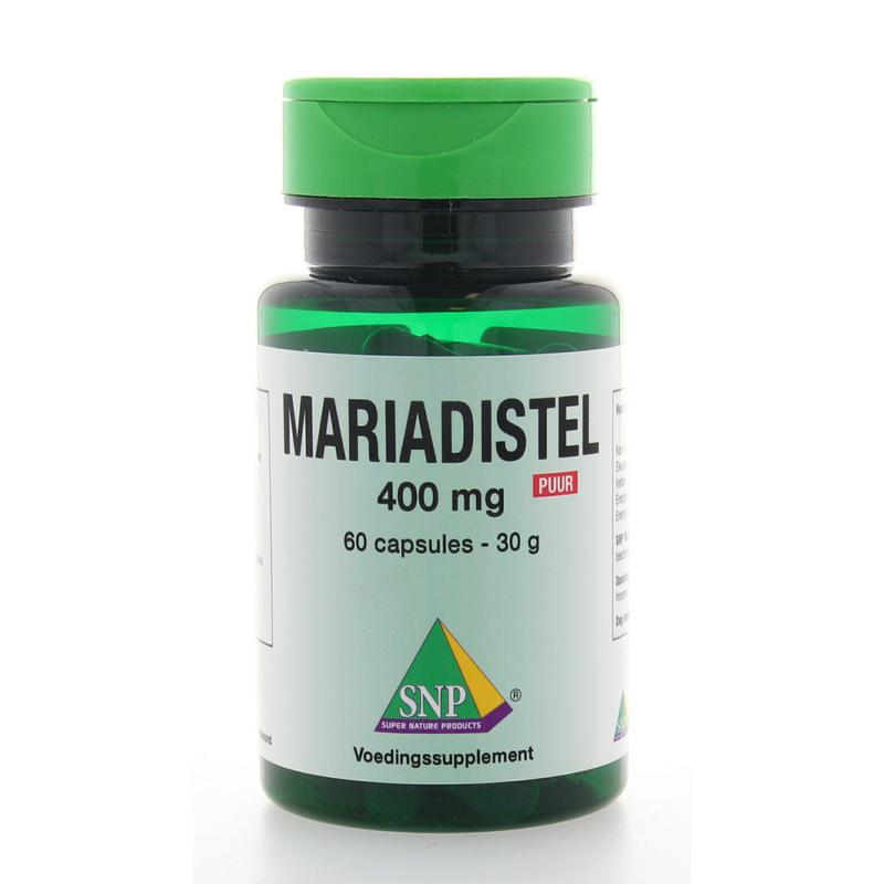 Mariadistel 400 mg puur