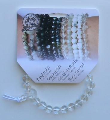 Powerbead armband bergkristal