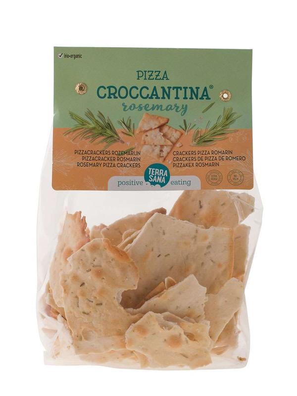 Pizza croccantina rozemarijn bio