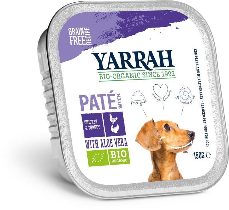 Hond wellness pate kalkoen aloe vera