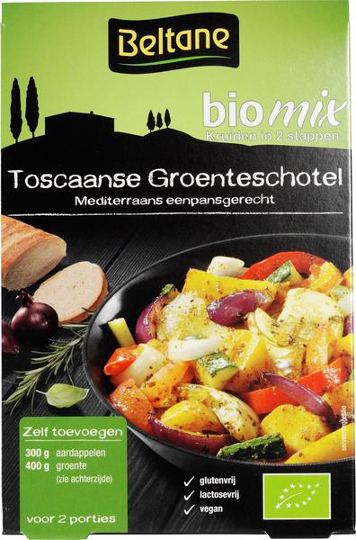 Toscaanse groenteschotel kruiden bio