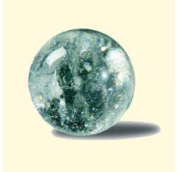 Joya edelsteen bol 15 mm bergkristal
