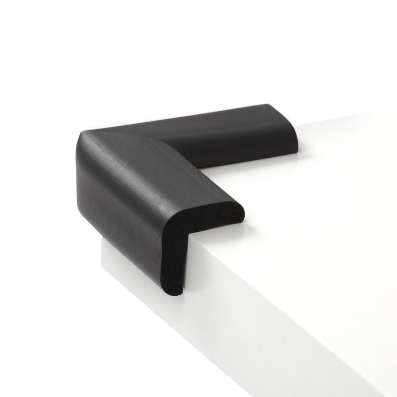 Foam tafelhoekjes zwart