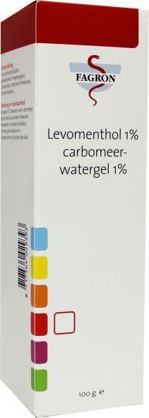 Levomenthol 1% carbomeer D & B