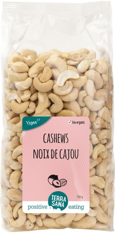 Cashewnoten ongeroosterd zonder zout bio