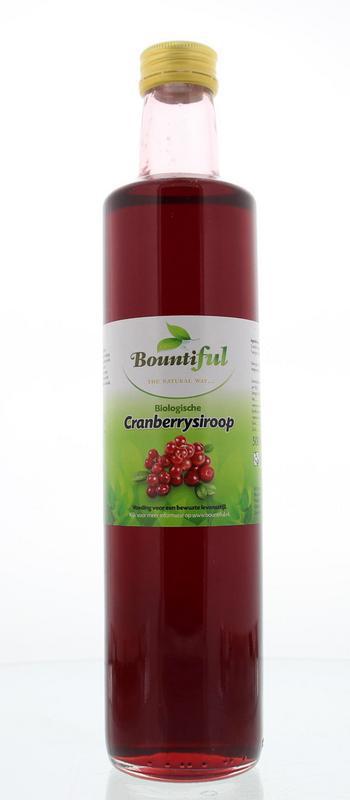 Cranberrysiroop bio