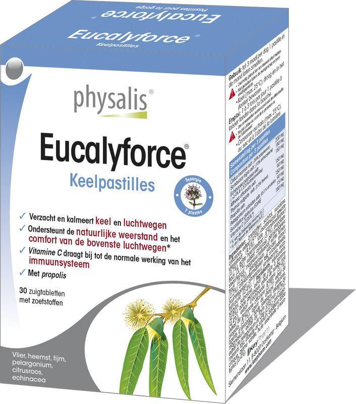 Eucalyforce keelpastille