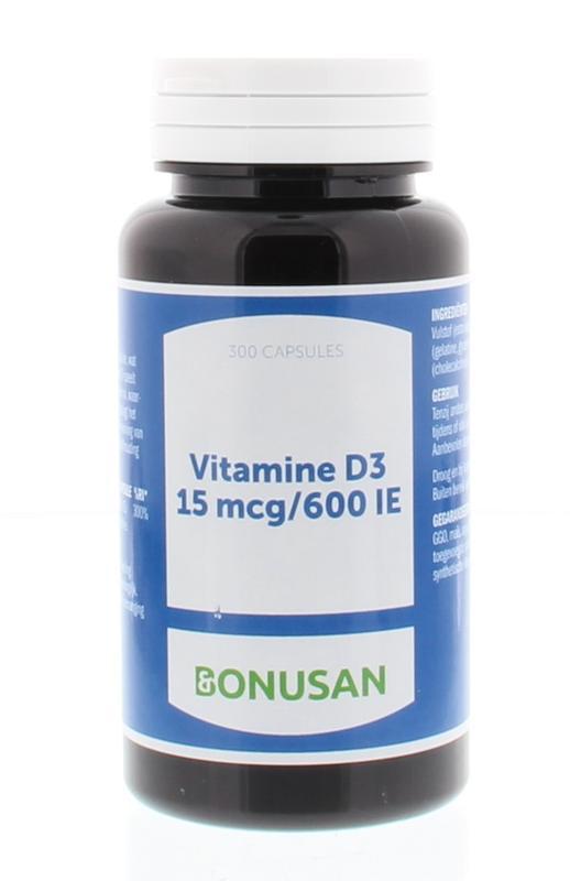 Vitamine D3 15 mcg