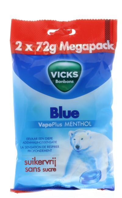 Blue menthol suikervrij pack