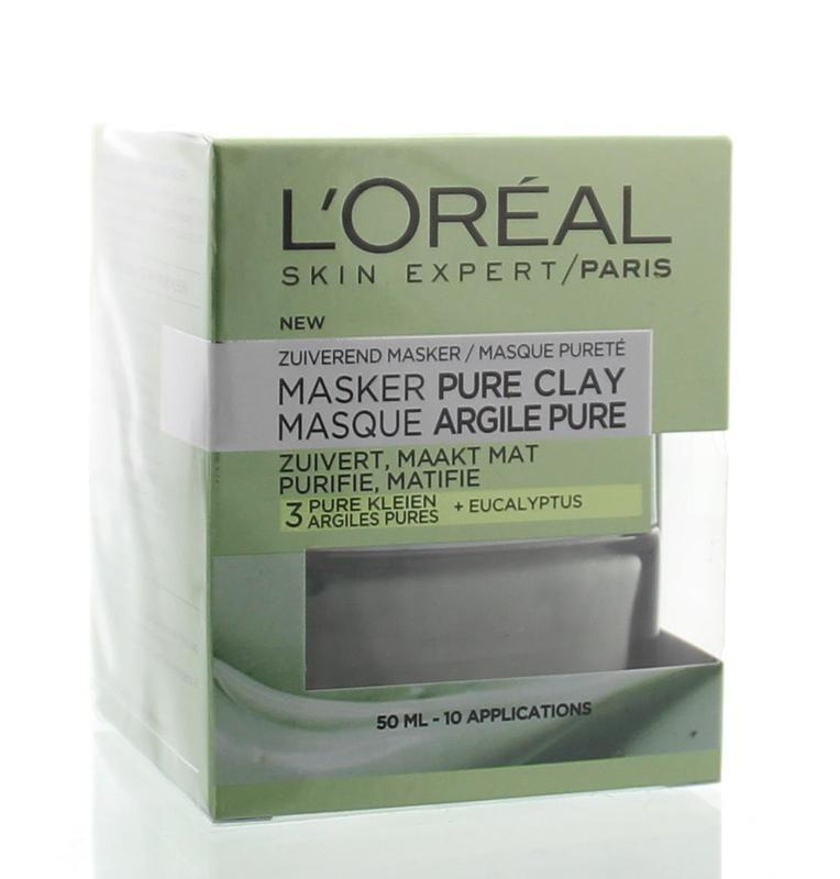 Skin expert masker pure clay