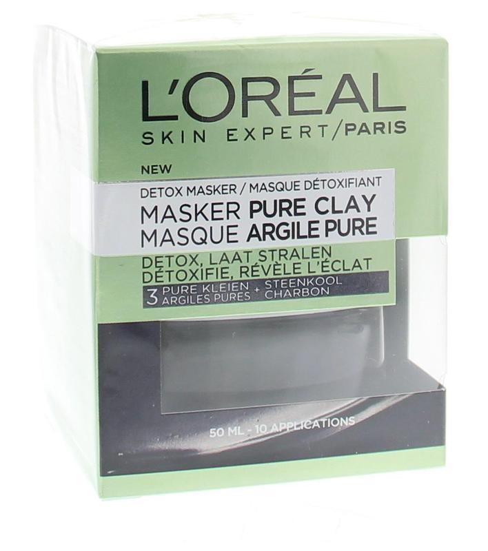Pure clay masker detox