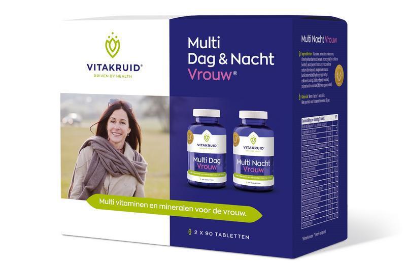 Multi dag & nacht vrouw 2 x 90 tabletten