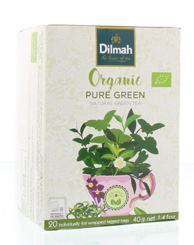 Pure green bio dilmah 20st 20st