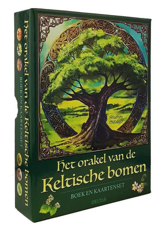 Het orakel van de keltische bomen boek en kaart