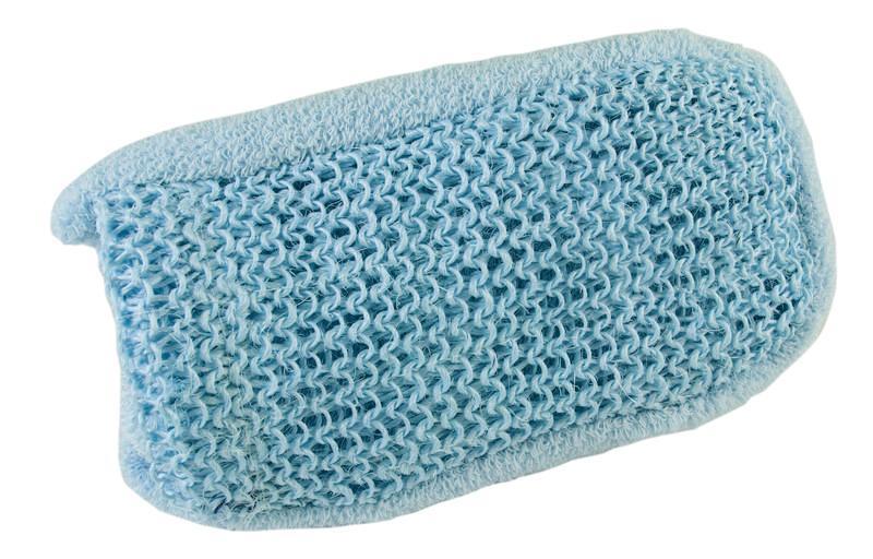 Scrub handschoen dubbelzijdig sisal katoen
