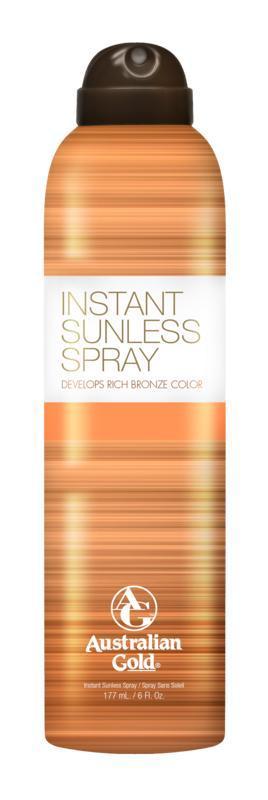 Instant sunless spray